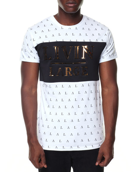 Buyers Picks - S/S Livin Large All Over Print Tee