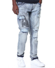 Men - Graffiti Denim Jeans