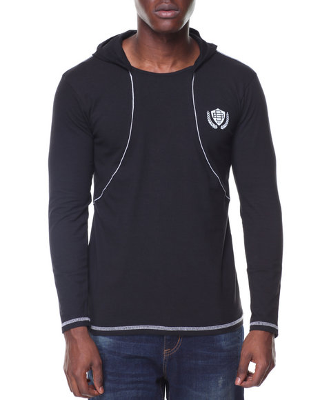 Buyers Picks - Fitted L/S Hooded Tee