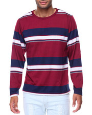 Buyers Picks - L/S Stripe Crew