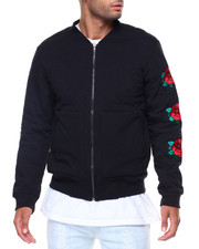 The Classic Bomber Jacket - Quilted/Patches Bomber Jacket