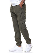 Flysociety - Twill Motto Joggers