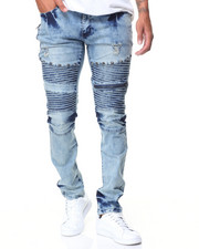 Men - Knee Trim Motto Jeans