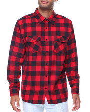 Button-downs - L/S Buffalo Flannel