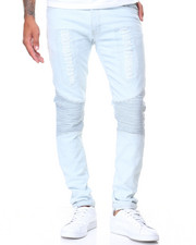 Men - Innocence Rip & Repair Skinny Biker Jeans