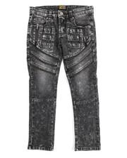 Jeans - Fashion Cut/Sew Zipper Jean (8-20)