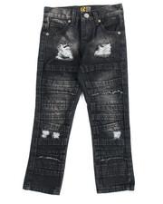 Boys - Fashion Cut/Sew Jeans (4-7)