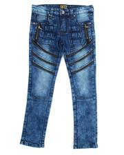 Arcade Styles - Fashion Cut/Sew Zipper Jean (8-20)