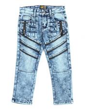 Jeans - Fashion Cut/Sew Zipper Jean (4-7)