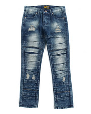 Bottoms - Fashion Cut/Sew Jeans (8-20)
