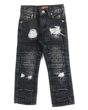 Boys - Fashion Cut/Sew Jeans (2T-4T)