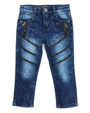 Boys - Fashion Cut/Sew Zipper Jean (2T-4T)