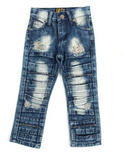 Sizes 2T-4T - Toddler - Fashion Cut/Sew Jeans (2T-4T)