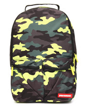 Men - Neon Camo Pockets Backpack