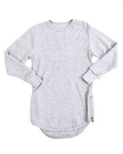 Arcade Styles - L/S Rounded Bottom Thermal (4-7)