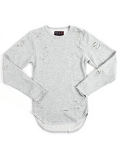Boys - L/S Crew Neck Thrasher Sweatshirt (8-20)-2134364