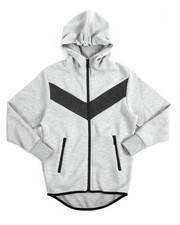 Hoodies - Tech Fleece Full Zip Hoodie (8-20)-2134349