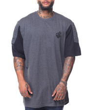 Men - S/S Optimist Knit Crew Neck Tee (B&T)