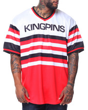 Men - S/S Kingpins V-neck Tee (B&T)