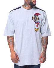 Men - S/S Multi Patch Tee (B&T)