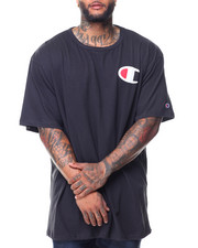 Men - S/S Retro C Left Chest Tee (B&T)