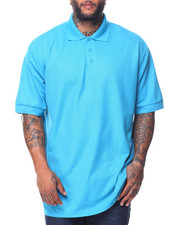 Men - S/S Solid Pique Polo (B&T)