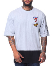 Men - S/S Colorblock Patch Tee (B&T)