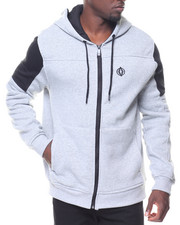 Men - L/S Duke Moto Fleece Hoodie