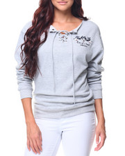 Graphix Gallery - Minnie One of a Kind Boatneck Sweatshirt