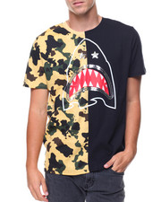 Men - CUT & SEW SHARK TEE
