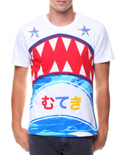 Men - SHARK W SEQUIN STAR TEE