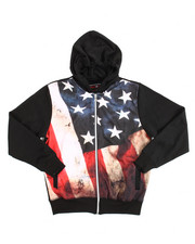 Sizes 8-20 - Big Kids - L/S French Terry Sublimation Graphic Hoodie (8-20)