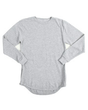 Arcade Styles - L/S Rounded Bottom Thermal (8-20)