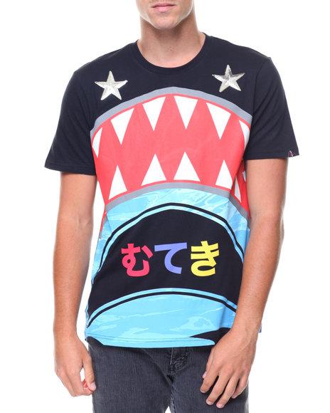 Buyers Picks - SHARK W SEQUIN STAR TEE