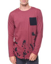 Buyers Picks - L/S Splatter Tee