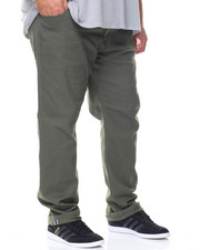 Jeans & Pants - Flex Stretch Twill Slim Straight Pants (B&T)