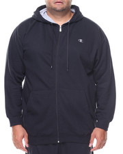 Champion - L/S Full Zip Fleece Hoodie (B&T)-2135164