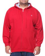 Big & Tall - L/S Full Zip Fleece Hoodie (B&T)