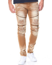 Jeans & Pants - Zip Trim Moto Twill Pants