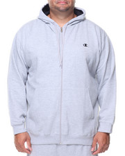 Champion - L/S Full Zip Fleece Hoodie (B&T)-2135159