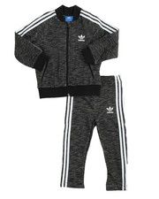 Sets -  SUPERSTAR MELANGE TRACK SUIT (INFANT-4T)