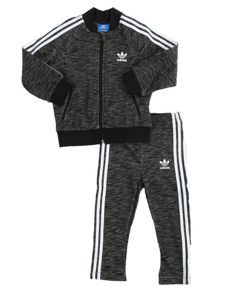 Adidas -  SUPERSTAR MELANGE TRACK SUIT (INFANT-4T)