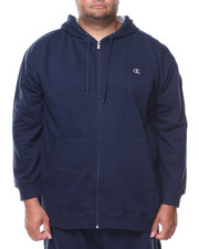 Big & Tall - L/S Full Zip Fleece Hoodie (B&T)-2135149