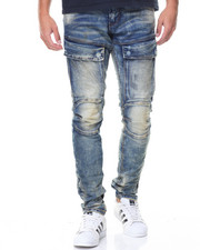 Jeans & Pants - Flap Pocket Cargo Jeans