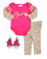 Girls - 3 Piece Creeper Set (Infant)