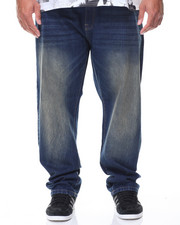 Jeans & Pants - Basic Denim Slim Straight Jeans (B&T)