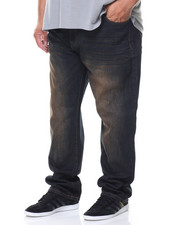 Southpole - Basic Denim Slim Straight Jeans (B&T)