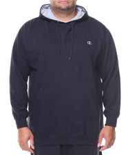 Big & Tall - L/S Pullover Fleece Hoodie (B&T)-2135204