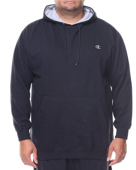 Champion - L/S Pullover Fleece Hoodie (B&T)