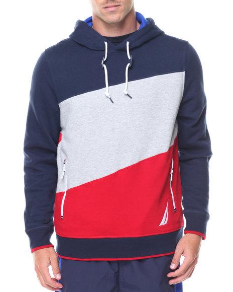 Nautica - Knit Color Block Hoodie
